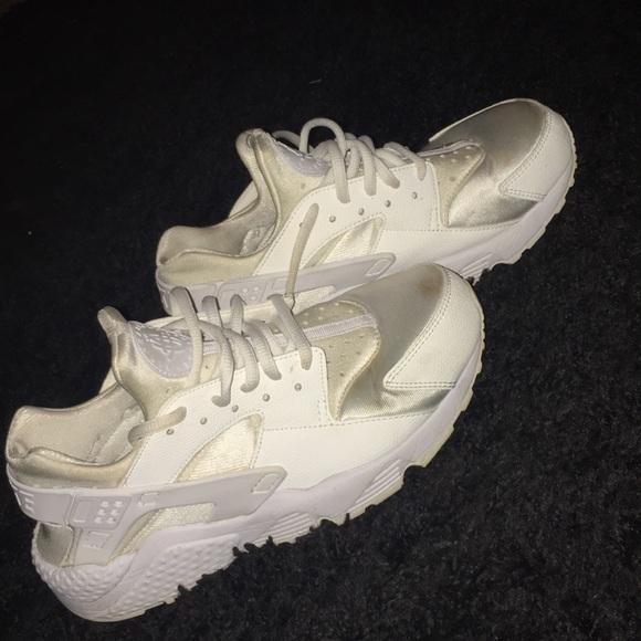 online retailer 02251 c11b0 All white huaraches